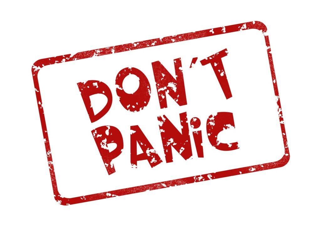 keine Panik Börsenpsychologie